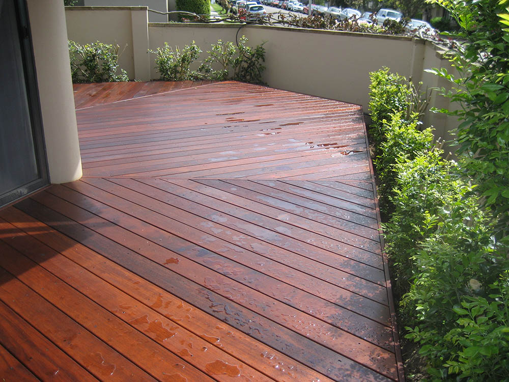 Timber decking designs thomsons outdoor pine for Garden decking near me