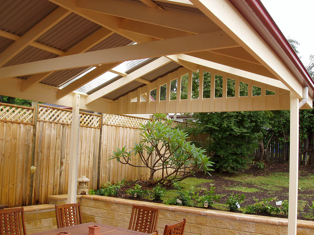 Pergola designs thomsons outdoor pine - Pergola with roof ...