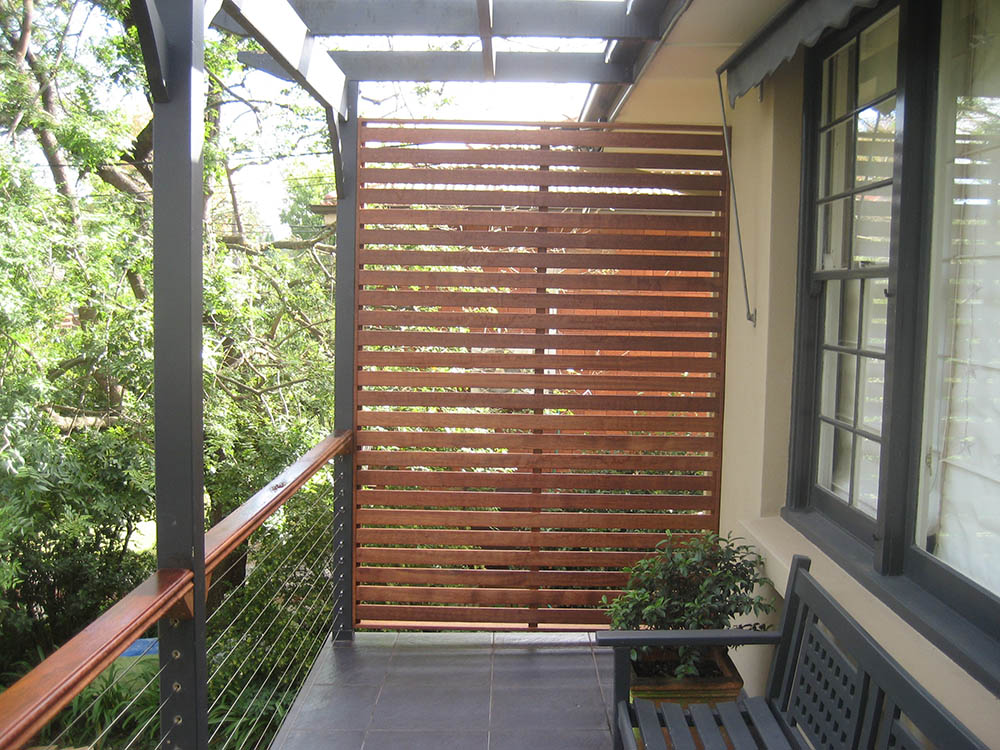 Privacy screens for your deck 2017 2018 best cars reviews for Horizontal garden screening