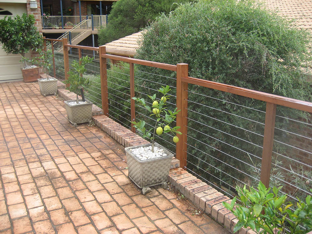 Timber handrails balustrades thomsons outdoor pine for Outdoor balcony