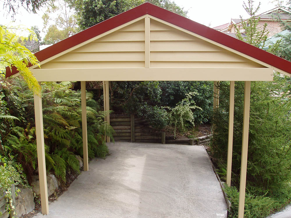 Timber Carports Thomsons Outdoor Pine